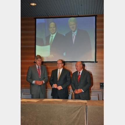 The Prince Albert II of Monaco Foundation, the UN Foundation and the Club de Madrid unite to combat global warming