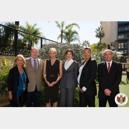 Première Assemblée Générale de la Fondation Princesse Charlène de Monaco