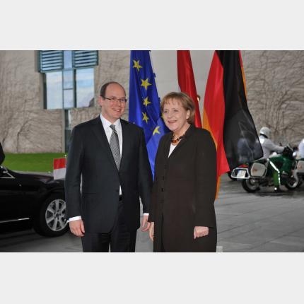 H.S.H. Prince Albert II visits Germany