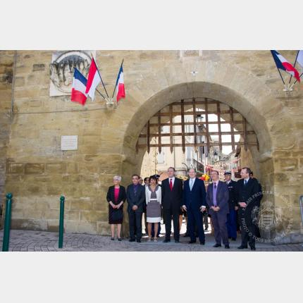 H.S.H. Prince Albert II of Monaco's trip to the former Duchy of Valentinois