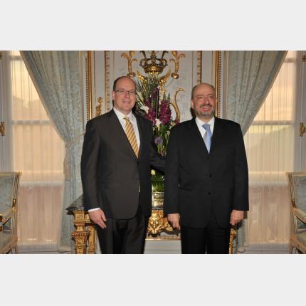 Remise des Lettres de créance de S.E.M Carlos Alberto DE ICAZA GONZALEZ, Ambassadeur extraordinaire et plénipotentiaire du Mexique auprès de la Principauté de Monaco
