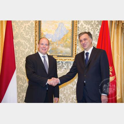 Official visit by HSH Prince Albert II of Monaco to Montenegro