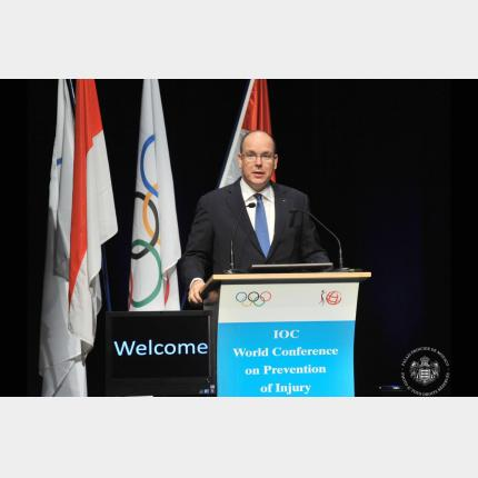 H.S.H. Prince Albert II's visit to Lausanne