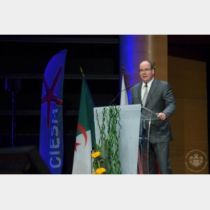 Participation of the Sovereign Prince in the 40th CIESM Congress in Marseille