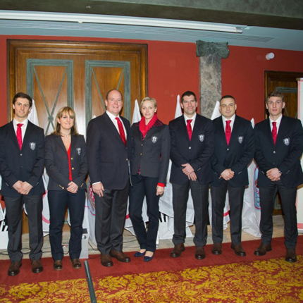 Presentation of the Monegasque athletes participating in the Olympic Games in Sochi