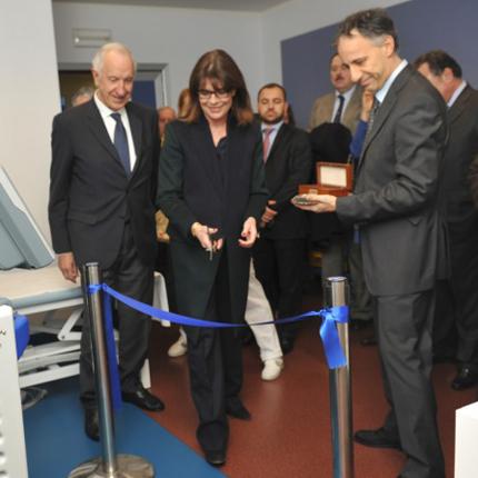 S.A.R. la Princesse de Hanovre visite l'Hôpital pédiatrique Gaslini de Gênes