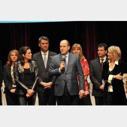 H.S.H. Prince Albert supports the humanitarian project launched in celebration of his 50th birthday