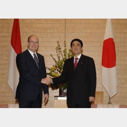Visite de S.A.S. le Prince Albert II au Japon