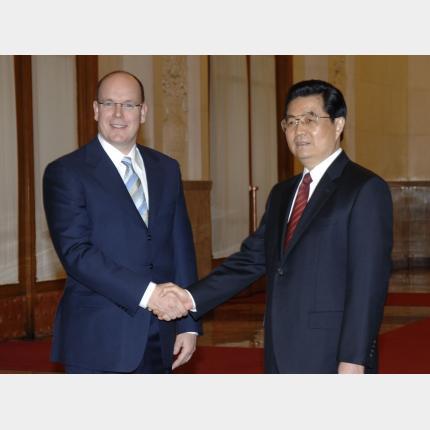 Visite officielle de S.A.S le Prince Albert II en Chine