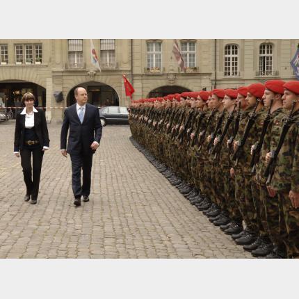 Déplacement de SAS le Prince Albert II en Suisse