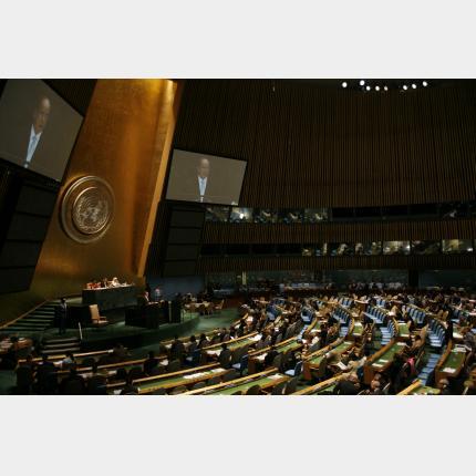 Intervention de S.A.S le Prince Albert II lors de la 62ème assemblée générale de l'ONU