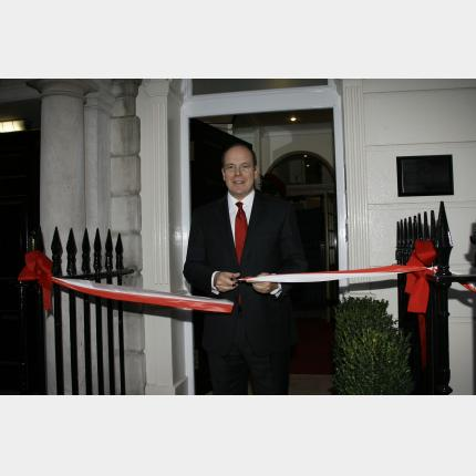 H.S.H. Prince Albert II visits London