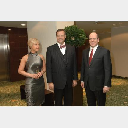 Visite officielle de S.A.S.le Prince Albert II en Estonie