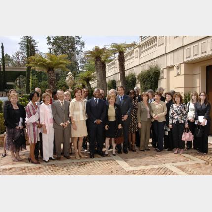Réunion de l'Assemblée plénière de l'AMADE sous la présidence de S.A.R la Princesse de Hanovre