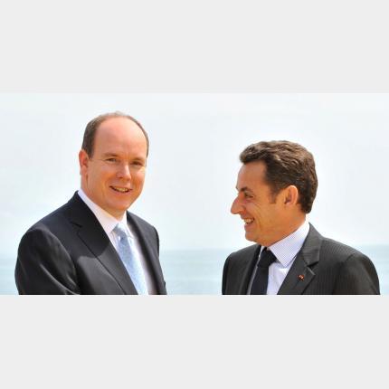 Visite officielle du Président de la République Française à Monaco