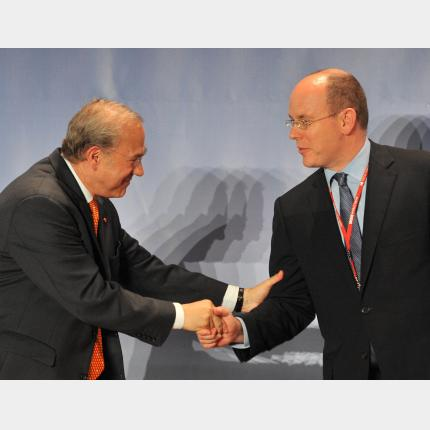 Speech by H.S.H. Prince Albert II to the OECD Forum