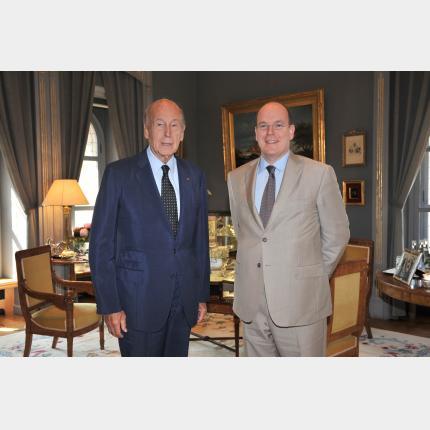 Audience de Monsieur le Président Valéry Giscard d'Estaing