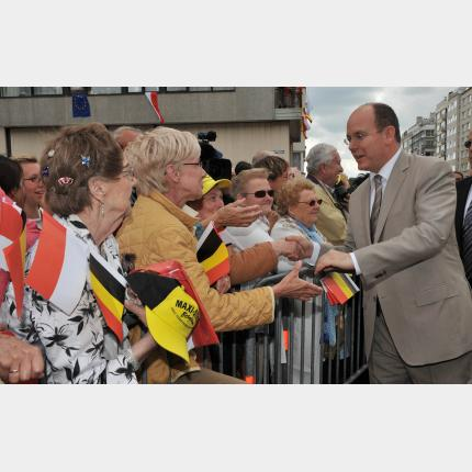 First official visit to Belgium by HSH Prince Albert II