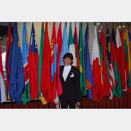 Discours prononcé par S.A.S. la Princesse Stéphanie à la tribune de l'ONU le 2 Juin 2006