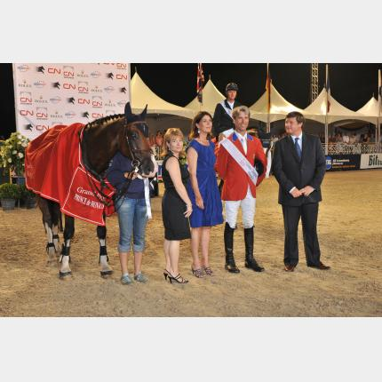 S.A.R. la Princesse de Hanovre au Jumping International