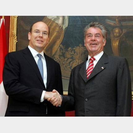 Official Visit by HSH Prince Albert II to Austria