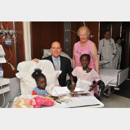 20 enfants ont déjà bénéficié de l'action humanitaire initiée à l'occasion du 50ème anniversaire de S.A.S le Prince Souverain