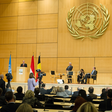 Conférence publique sur le thème  Un développement durable est-il possible sur une planète en...